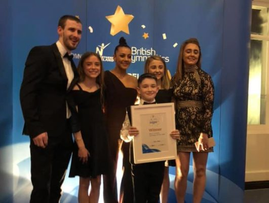 British Gymnastics NI awards Feb 2019