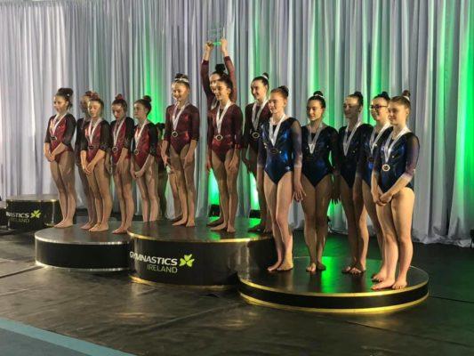 Salto at Gymnastics Ireland and all around championships 2019