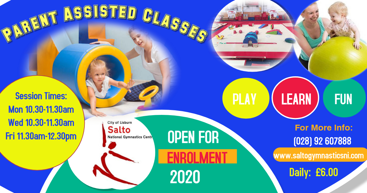Parent Assisted Class Poster 2020